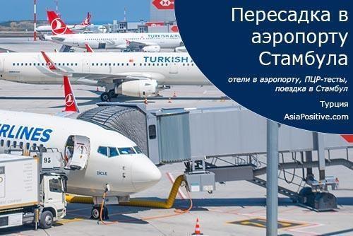 Пересадка в аэропорту Стамбула